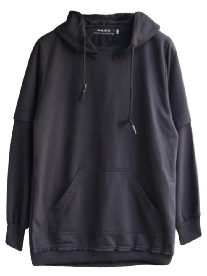 Fashion chaolongjushang GH - 8819 Spring Hooded Solid Color Hoodies