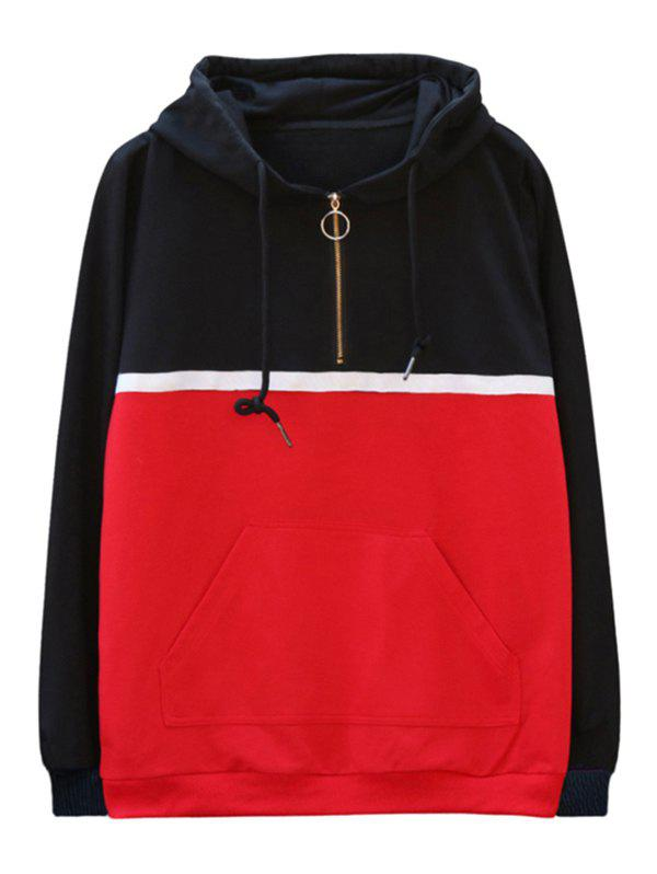 Unique chaolongjushang GH - 8826 Spring Color Matching Hoodies