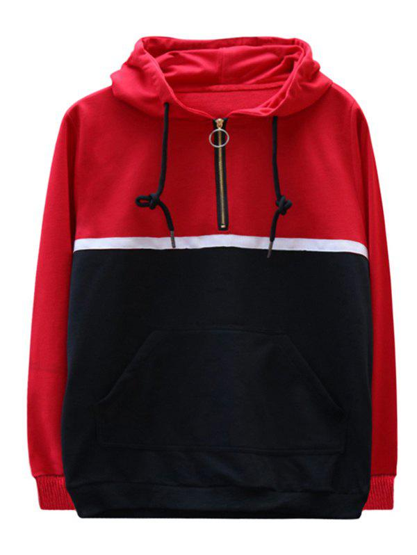 Store chaolongjushang GH - 8826 Spring Color Matching Hoodies