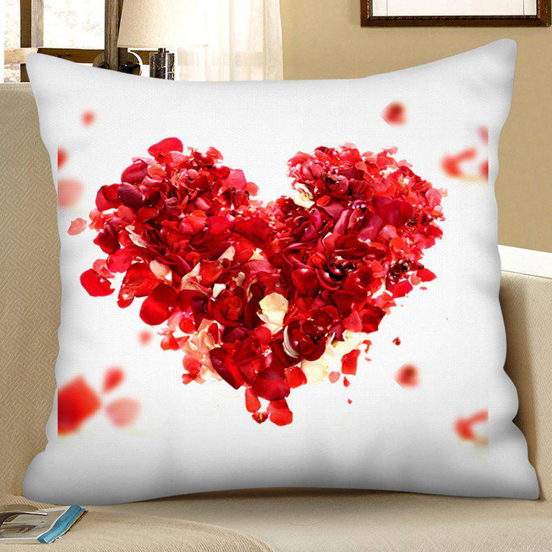 Outfits Polyester Faux Linen Valentine Day Series Digital Printing Hug Pillowcase