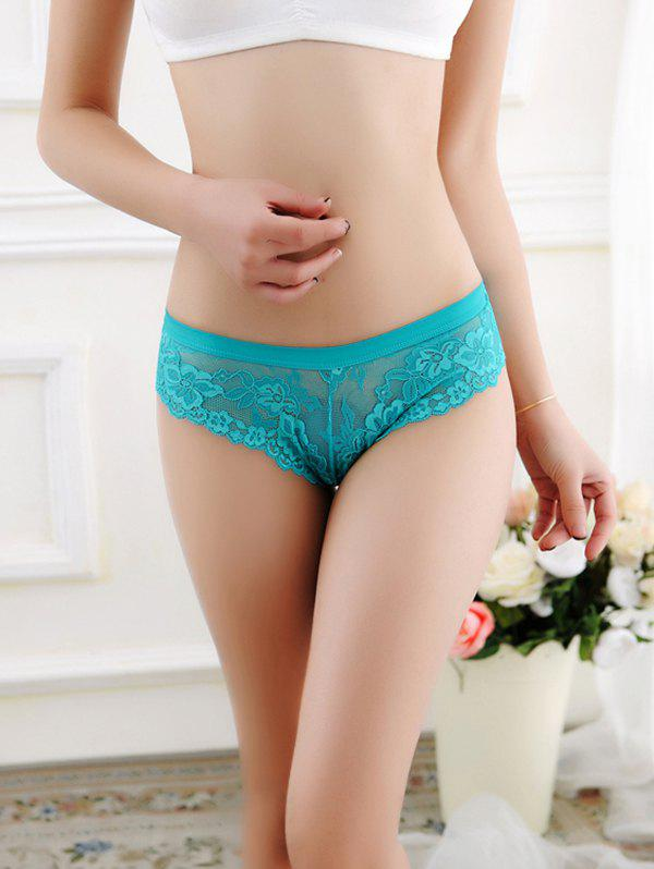 Store 1515 Lace Low Waist Cotton Sexy Thong