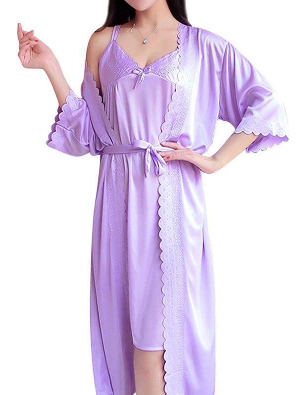 Latest GH - PX003 Female Nightdress Night-robe Home Suit