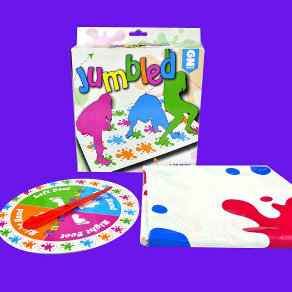 Latest Educational Toys Adult Table Games Twister Twisted Balance Pad Parent-child Interactive Toys
