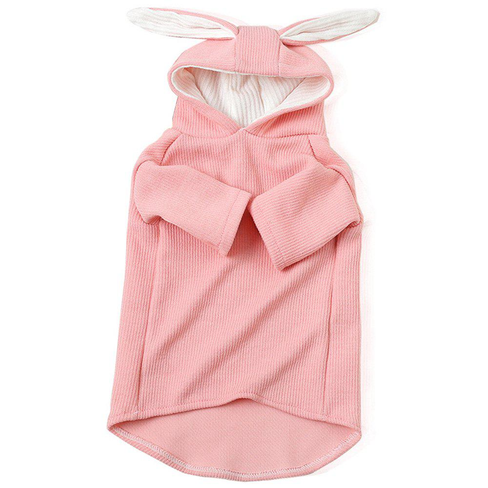 Outfits SQB35201 Cute Rabbit Ear Style Pet Sweater
