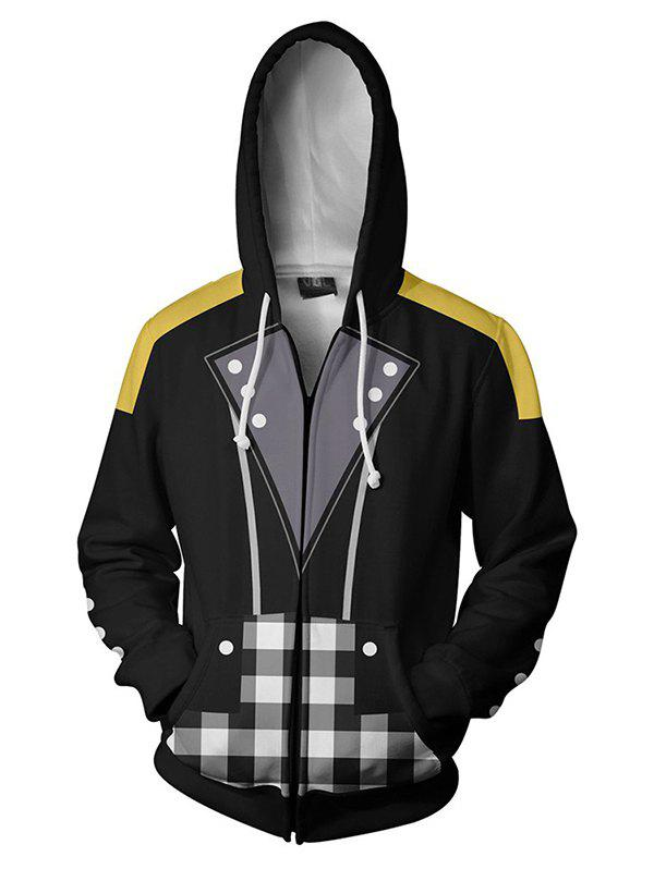 New Men's Hoodie Printed Hooded Casual Personality