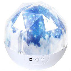 BRELONG Fantasy Moon Style Projection Night Light -