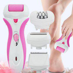Lady Rechargeable 4-in-1 Electric Epilator -