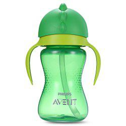 Baby Handle Drinking Straw Bottle -