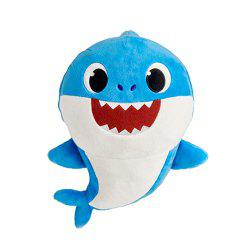 Cute Sing Electric Shark Plush Toy -