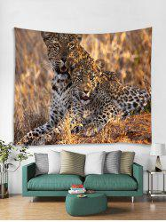 Leopard Printed Tapestry Art Decoration -
