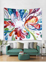 Feather Printed Tapestry Art Decoration -