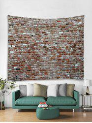 Vintage Brick Wall Pattern Tapestry Art Decoration -