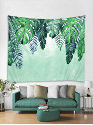Leaf Printed Tapestry Art Decoration -