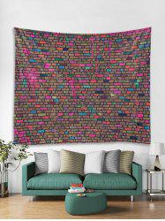 Unique Brick Wall Printed Tapestry Art Decoration -