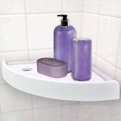 Punch-free Suction Seamless Triangle Storage Shelf -