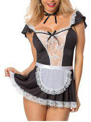 Women Sexy Naughty Dress Maid Costume -