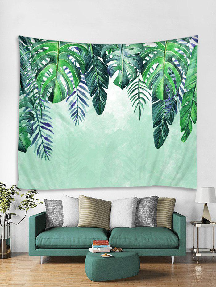 Outfit Leaf Printed Tapestry Art Decoration