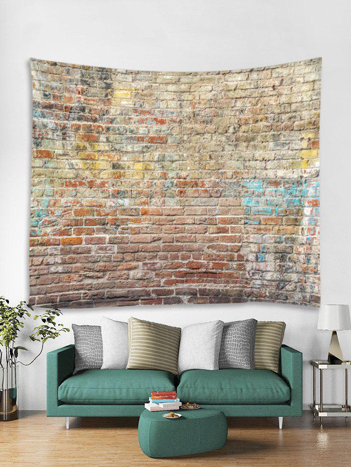 Sale Brick Wall Printed Tapestry Art Decoration
