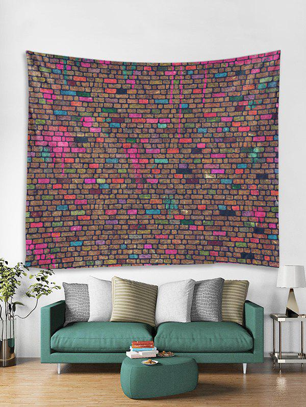 Shops Unique Brick Wall Printed Tapestry Art Decoration