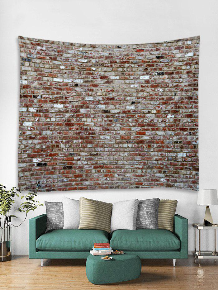 Hot Vintage Brick Wall Pattern Tapestry Art Decoration