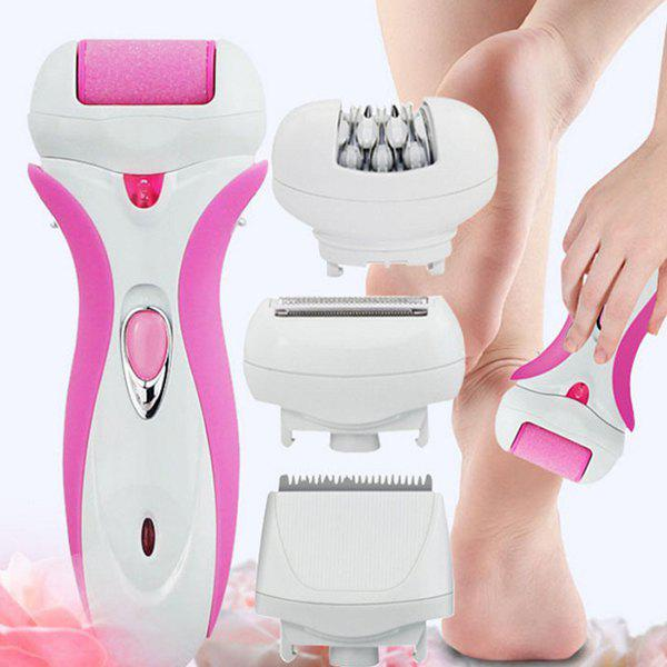 Unique Lady Rechargeable 4-in-1 Electric Epilator