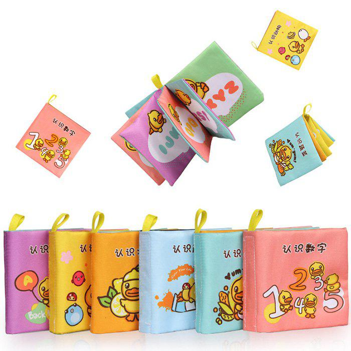 Outfits B.DUCK WL - BD044 Baby Early Education Growth Book 6PCS