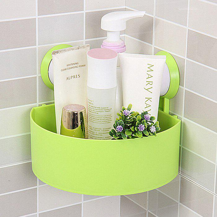 Shops Triangle Suction Cup Bathroom Storage Rack