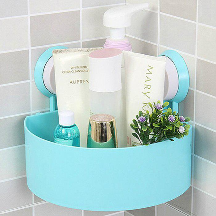 Trendy Triangle Suction Cup Bathroom Storage Rack