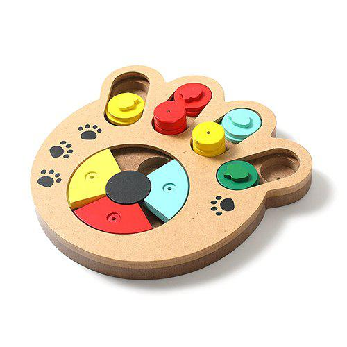 Hot SQ080 Plastic Turntable Toy for Pet