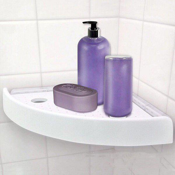 Sale Punch-free Suction Seamless Triangle Storage Shelf