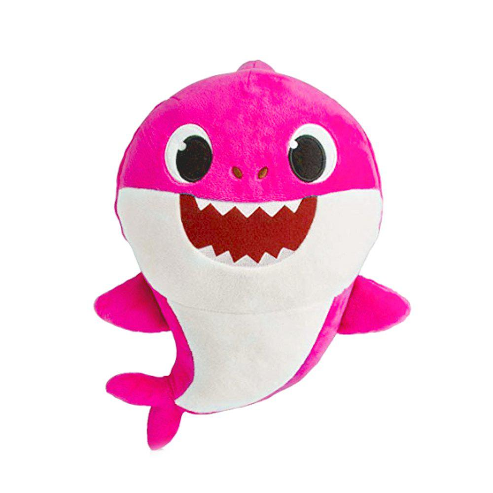 Outfit Cute Sing Electric Shark Plush Toy