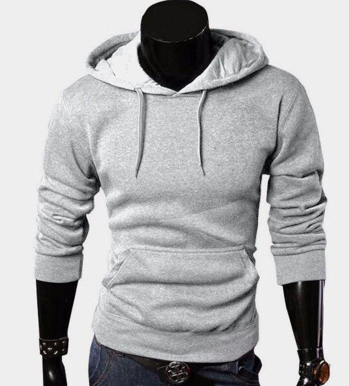 Cheap Casual Pure Hoodie Durable Comfort