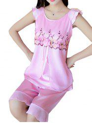 GH - YX824 Women's Fashion Comfortable Pajama Set -