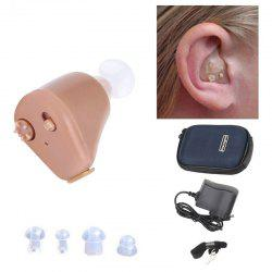 K-88 Hearing Aid Rechargeable Mini In-ear Assistant Sound Amplifier Invisible Hear Clear for The Elderly Deaf Ear Care Tools -