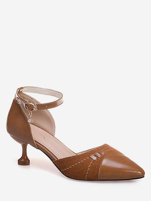 Online Pointed Toe Ankle Strap Pumps