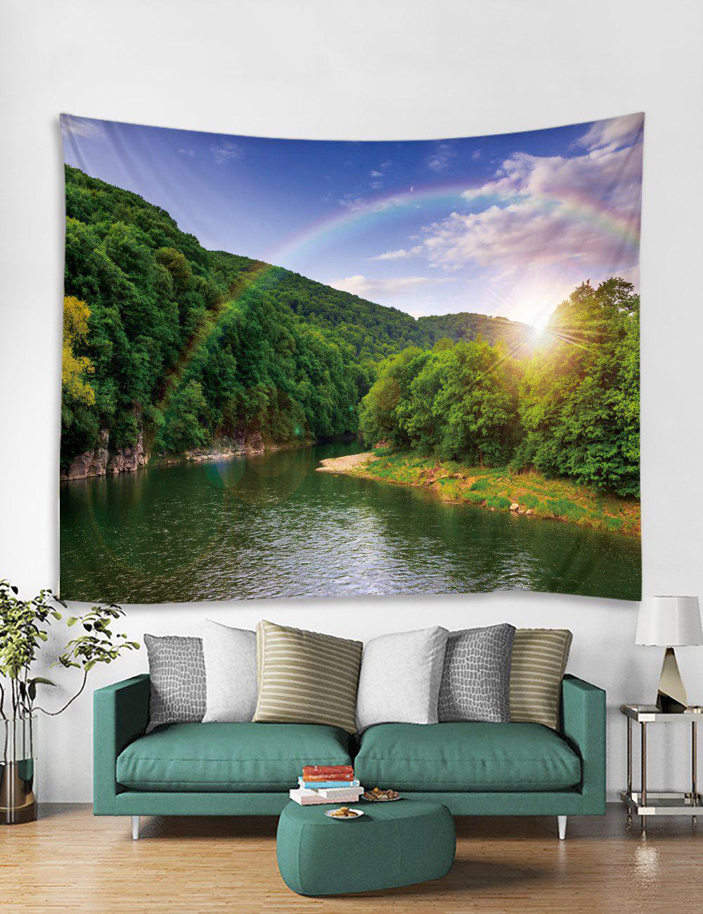 Discount Landscapes Printed Tapestry Art Decoration