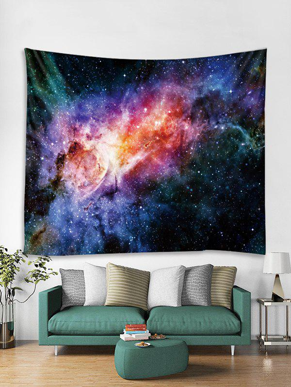 Discount Starry Sky Print Tapestry Art Decoration