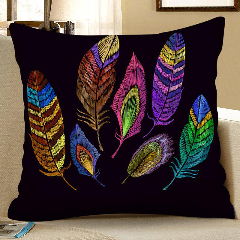 Discount 3D Digital Printing Polyester Faux Hemp Pillowcase Square Sofa Cushion Cover