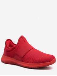 Mesh Slip On Running Sneakers -