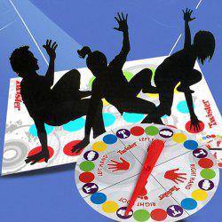 Body Twist Music Twister Game Toy Multiplayer Party Parent-child Interactive Props -