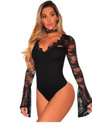 32156 Sexy V-neck Sleepwear Set -