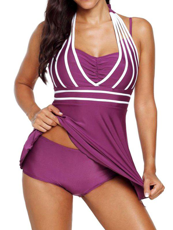 Outfits Solid Color Slim Women's Swimsuit