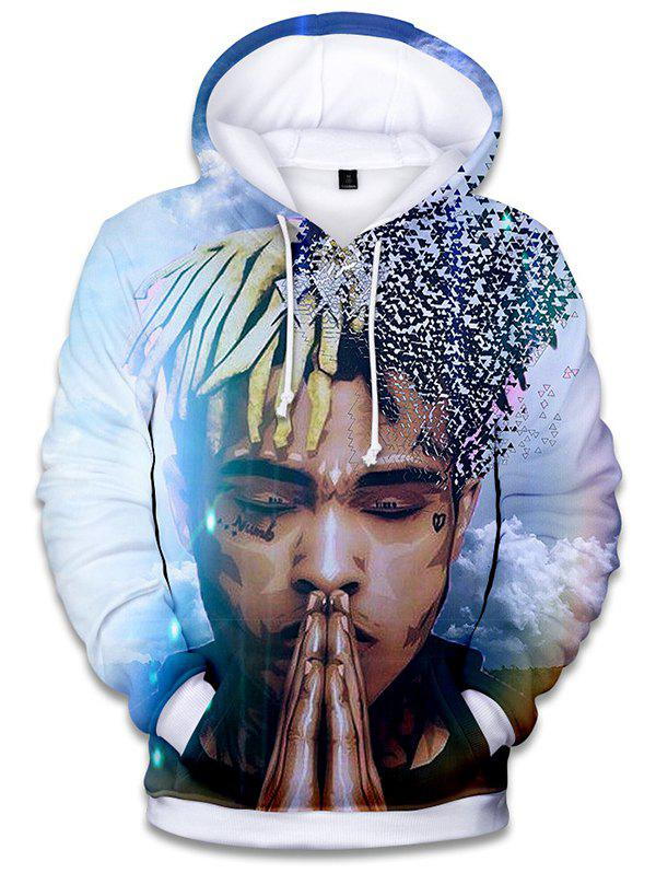 Buy WY001 Men's 3D Digital Print Hoodie