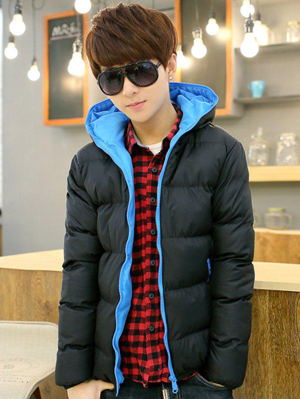 Hot Men's Fashion Casual Hooded Parka