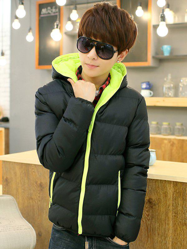 Store Men's Fashion Casual Hooded Parka