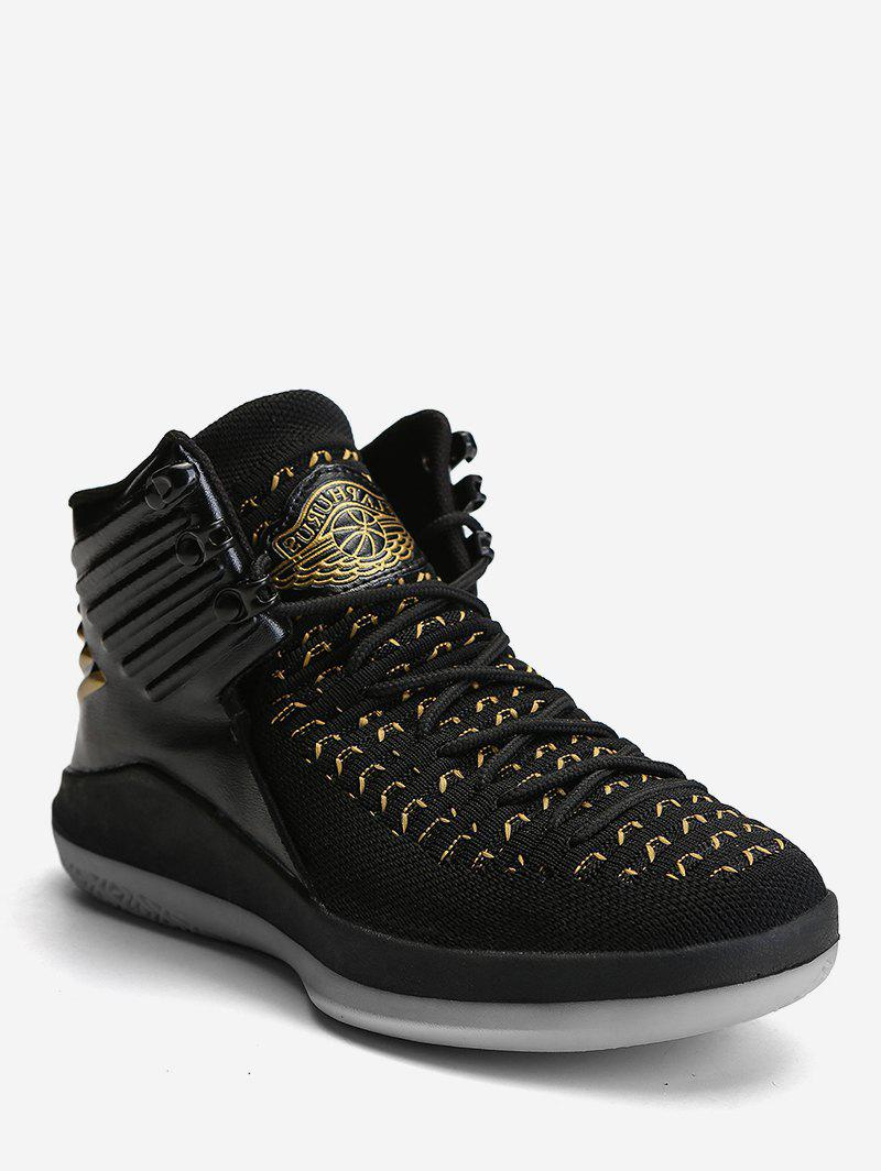 Affordable Two Tone High Top Sport Sneakers