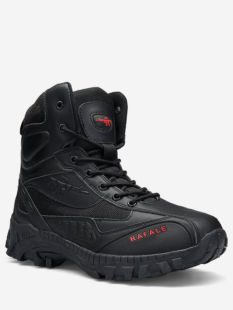 Hot Lace Up Outdoor Combat Boots