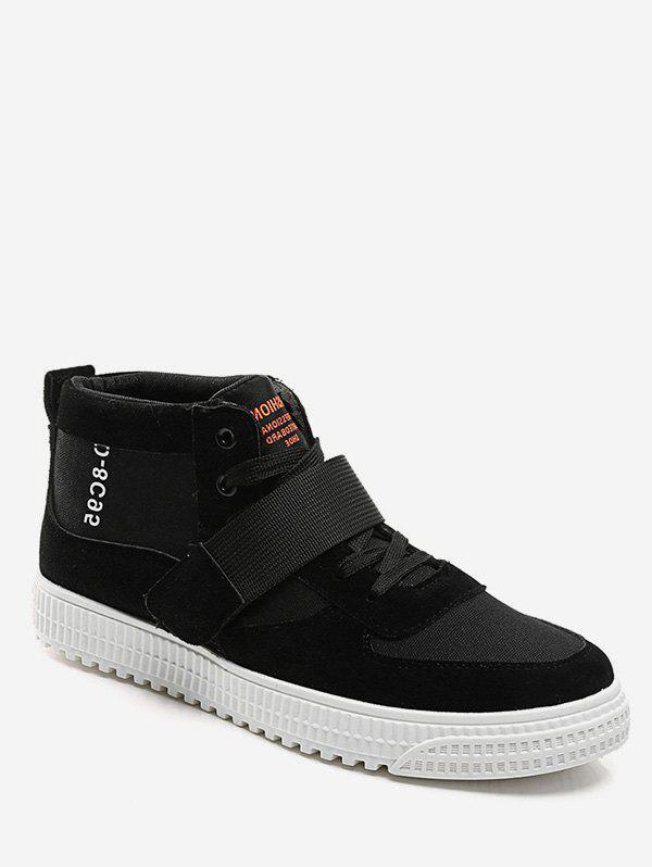 Online High Top Hook Strap Casual Sneakers