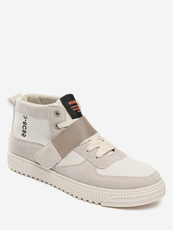 Hot High Top Hook Strap Casual Sneakers
