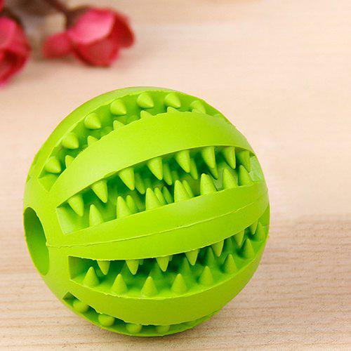 Outfit SQ01021122 Rubber Molar Tooth Feeding Ball Dog's Toy
